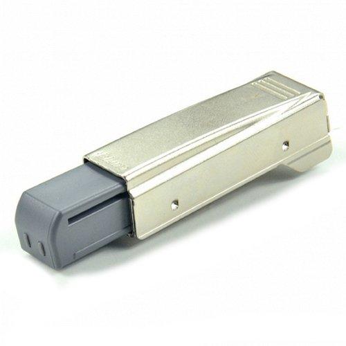Blum Blumotion - Bisagra para puertas (brazo recto), acabado en níquel, Pack of 1, níquel, 1