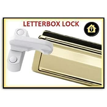 Suitable for all letterplates up to 300mm or 12 Letterbox Security Restrictor Shroud aka Cowl Deflector or Hood Matt anodised Gold Letterplate