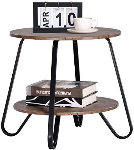 ZQY Tea Tabella Moderna Minimalista Creativo Piccola Tavola Rotonda Round Corner Tavolo Tea Soggiorno Tavolo Tea Assemblea Tabella