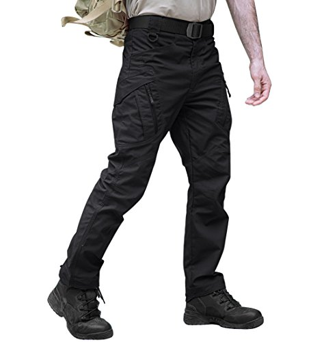 TACVASEN Men's Tactical Cargo Pants Outdoor Sport Military Ripstop Pants