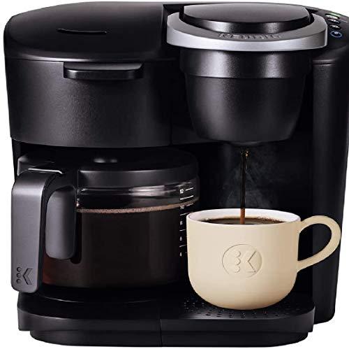 Single Serve and Carafe Coffee Maker, Black/Home coffee maker