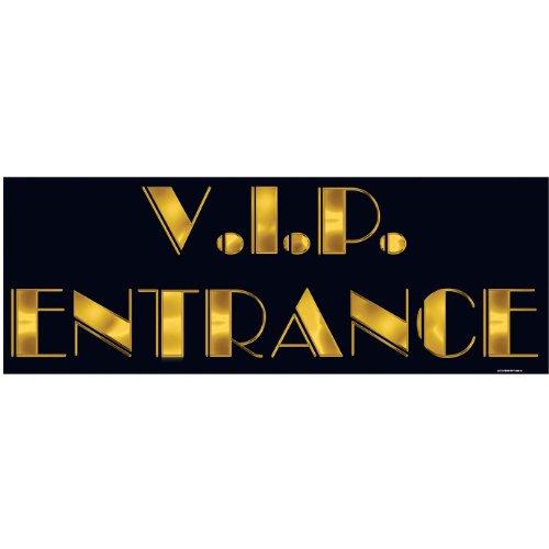 Aptafêtes Décoration VIP Entrance 55 cm - Taille Unique