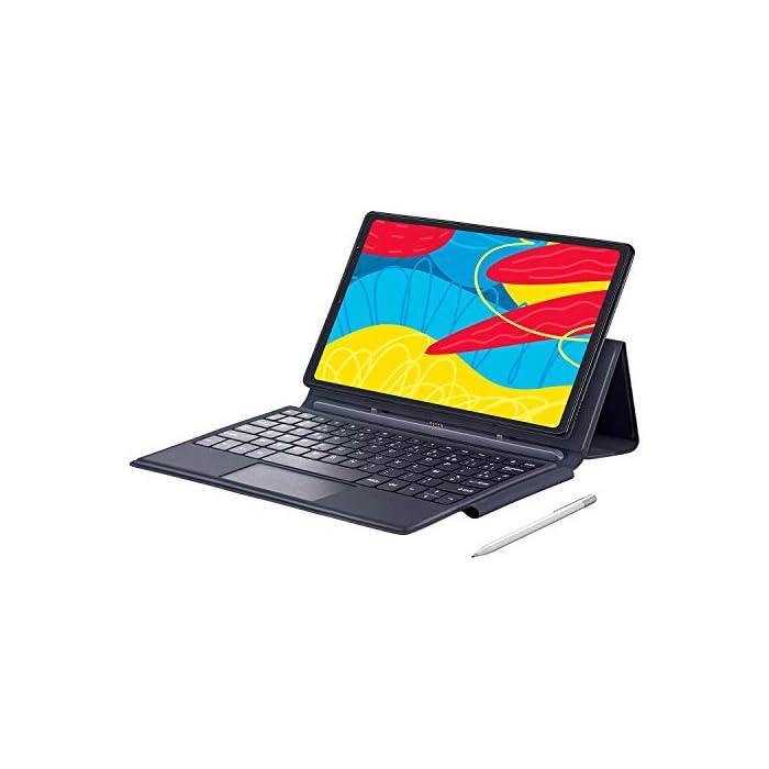 VANKYO 4G LTE 2 en 1 Tablette Ordinateur 8 Cœurs, 64 Go, 4 Go RAM, Full HD Tablette Tactile 10 Pouces Android 10.0, 13MP…