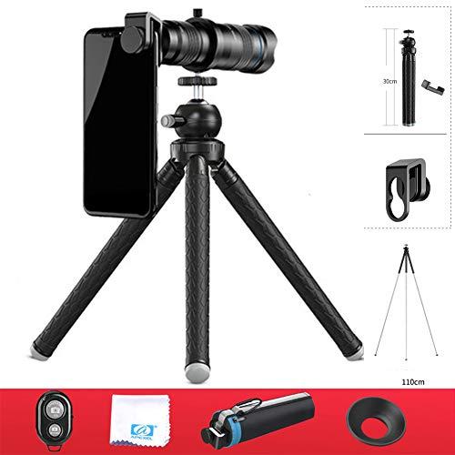 Telefoon Lens Telefoon HD Externe Telescoop, Professionele Shooting Lens, Telefoon Lens voor de meeste Smartphones Iphone X 8/8 Plus7 / 7 Plus / 6S / 6S Plus / 6 / Samsung/Ipad, Android
