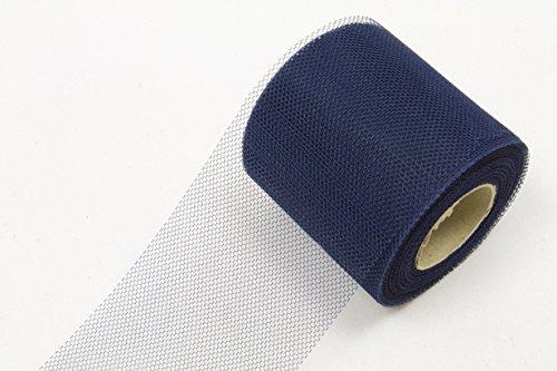 les colis noirs lcn Rouleau de Tulle Bleu Marine 20 mètres - Taille - Taille Unique - 222342