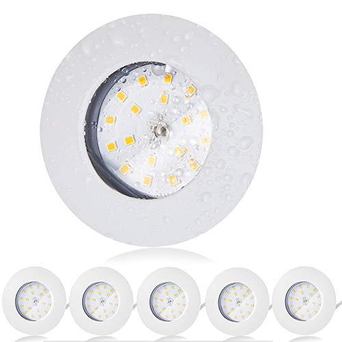 Bojim 6 x 5.5W Faretti LED da Incasso Per...