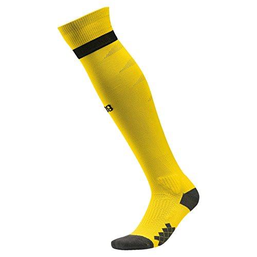 PUMA Herren Borussia Dortmund 3rd 2018/2019 Socken, gelb, 35-38 EU