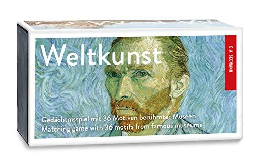 Seemann Henschel GmbH Weltkunst. Memo: Schätze berühmter Museen. Gedächtnisspiel mit 36 Motiven