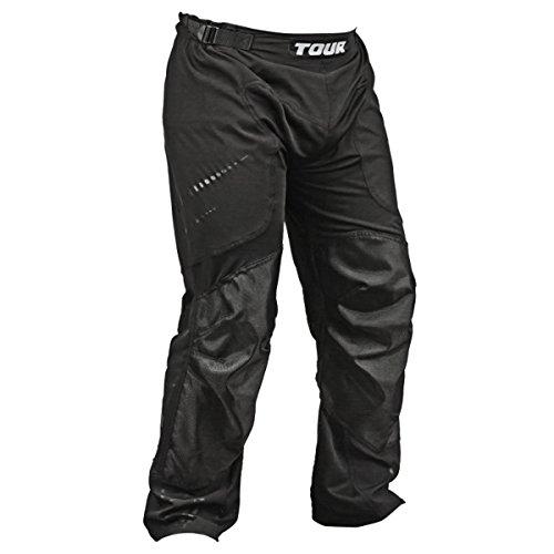 Tour Hockey HPA54BK-L Adult Spartan XTR Hockey Pants, Large, Black