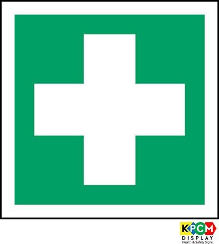 Label-Zeichen ISO Sicherheit - Erste-Hilfe-Symbol - Selbstklebende Aufkleber 150mm x 150mm