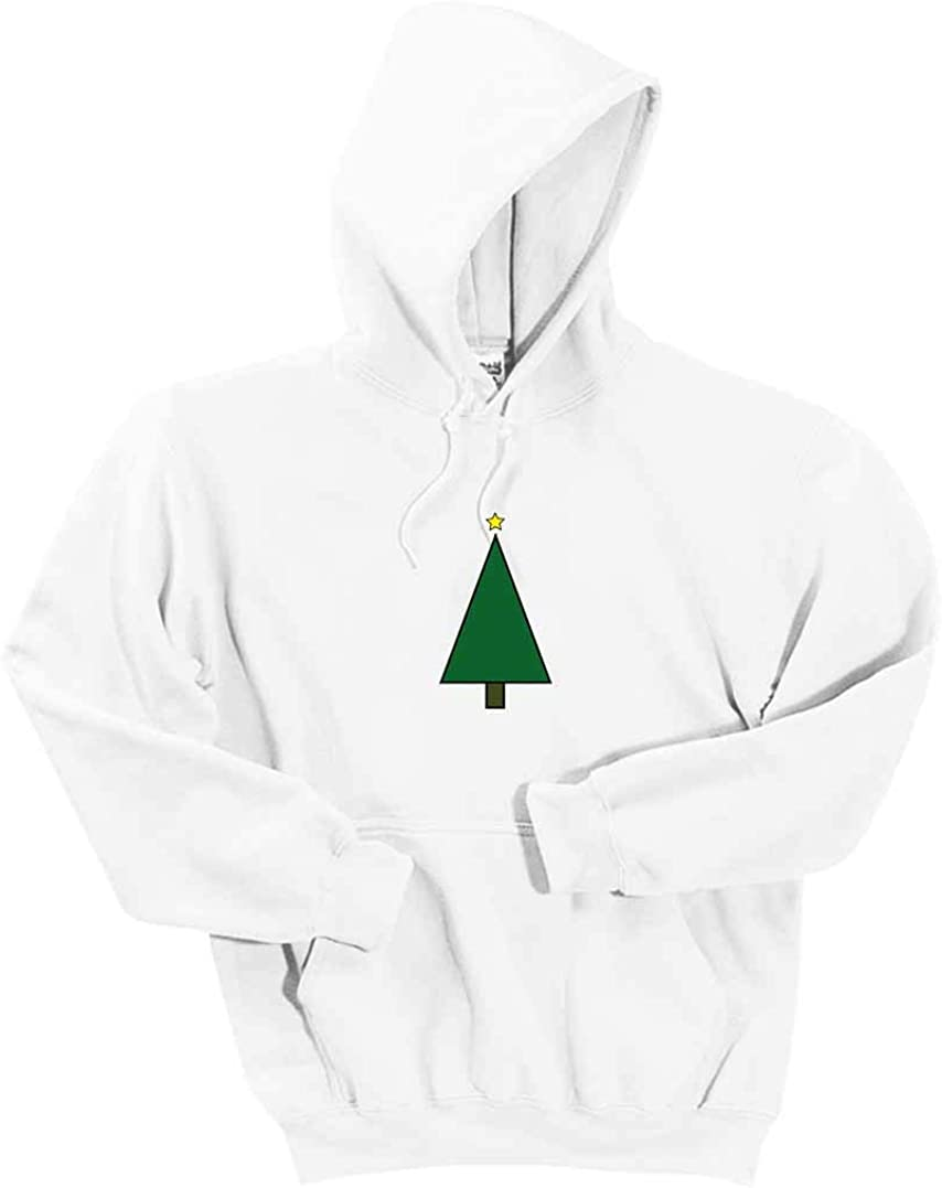INK STITCH Kids and Adults Unisex Christmas Tree DryBlend Pullover Hoodie Sweatshirts -Multicolors