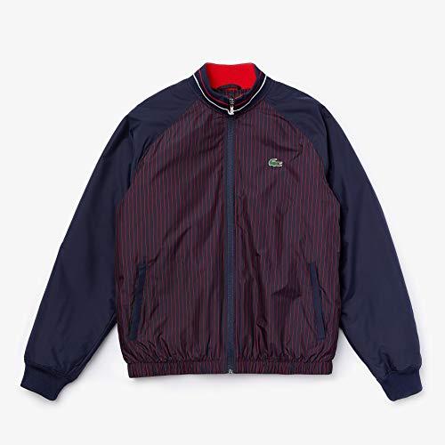 Lacoste Sport Waterresistant Striped Zip Golf Jacke Herren