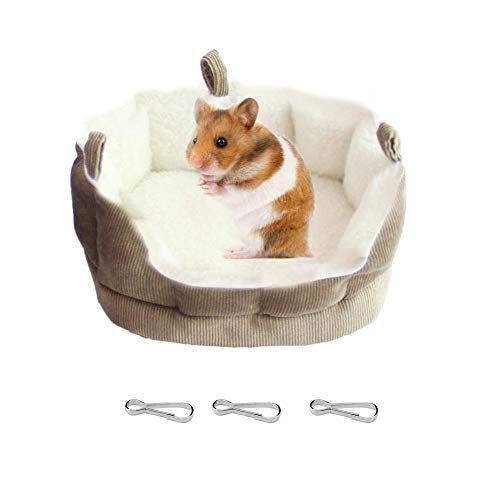 Bello Luna Weiche warme Baumwollplüsch-Bett-hängende Hängematte für Hamster-Eichhörnchen