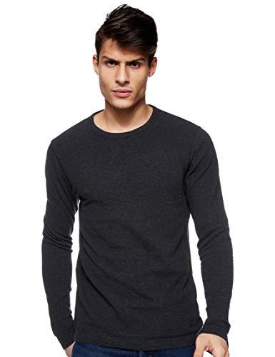 BOSS Herren Tempest Sweatshirts, Schwarz, XXL EU
