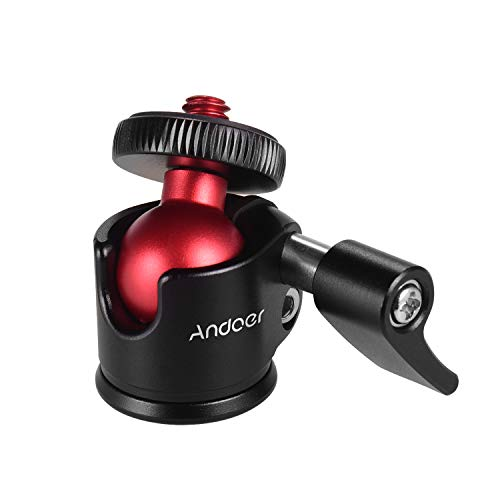 Andoer Mini Stativ Kugelkopf 360 Grad Schwenker fur DSLR Kamera