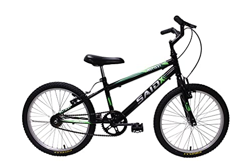 Bicicleta Aro 20 Infantil Masculino Saidx (Preto)