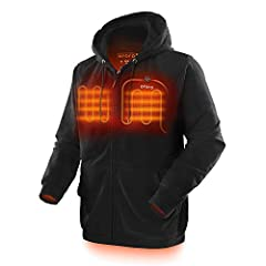 """SIZE AND FIT: Unisex; Relaxed fit; Model (Men) is 6'2"""" and wearing a size Medium; Model (Women) is 5'10"""" and wearing a size Small HEAT ACROSS BODY: 3 carbon fiber heating elements generate heat across core body areas (left & right chest, mid-back); A..."""