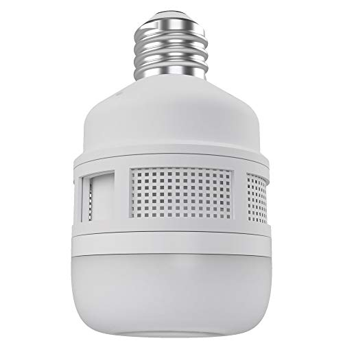 CLEANRTH FLYLIGHT | 75-watt Daylight LED Light Bulb That Vacuums & Traps Flying Bugs to Create...