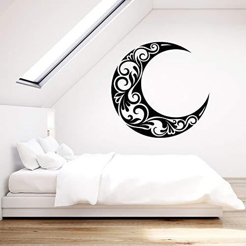 JXWH Vinyl wandlamp halve maan slaapkamer woonkamer huis Art Deco behang