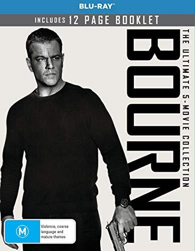 The Ultimate Bourne Collection - 5-Disc Boxset ( The Bourne Identity / The Bourne Supremacy / The Bourne Ultimatum / The Bourne Legacy / Jason Bourne ) [ Australische Import ] (Blu-Ray)