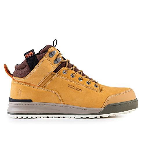 Scruffs Switchback Sb-P - Zapatos de seguridad para hombre, color amarillo, talla 43 EU ( 9 UK )