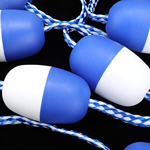 Slijtvaste Lane Line Witte en blauwe nylon veiligheidstouw voor Shoal