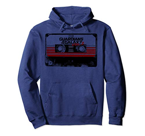 Marvel Guardians of the Galaxy 2 Cassette Graphic Hoodie