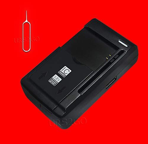 Universal Travel Desktop Wall Battery Charger PBR-46A for Pantech Breeze II 2 P2000 Cellphone