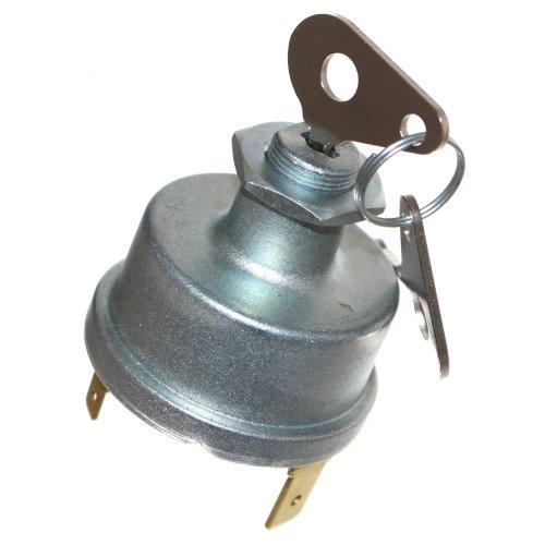 1 Startschloß mit 2 Schlüsseln Schalter 6-32V Oldtimer Zündschloß Schlepper 12V Neu Old-Harvest