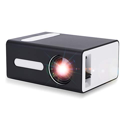 Pro Proyector, OOTOMI Mini Proyector Portátil para Movil Compatible con USB HDMI TF AV 3.5mm Headphone Jack, Regalo Infantil