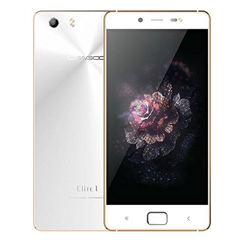 LEAGOO Elite 1 4G MTK6753 Octa Core 64bit 1.3GHz 3GB RAM 32GB ROM Android 5.1 OS 1.1 OS 5.0  IPS 13МP 16MP Impronte Digitali