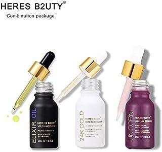 HERES B2UTY Unicorn Essence Serum + 24K Rose Gold Oil+