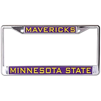 WinCraft Maine University of L366198 Inlaid Metal LIC Plate Frame
