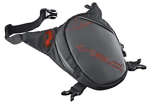 Held Lap Bag Motorrad Beintasche, Oberschenkeltasche, Motorrad-Tankrucksack inkl. Regenhaube