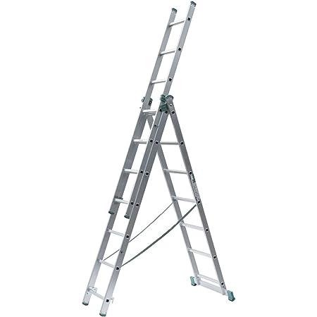Leiter 3 x 9 Stufen