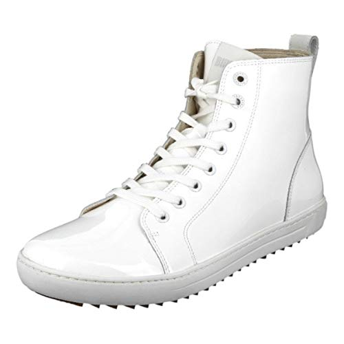 BIRKENSTOCK Shoes Damen Bartlett High-Top, Weiß (White), 40 EU