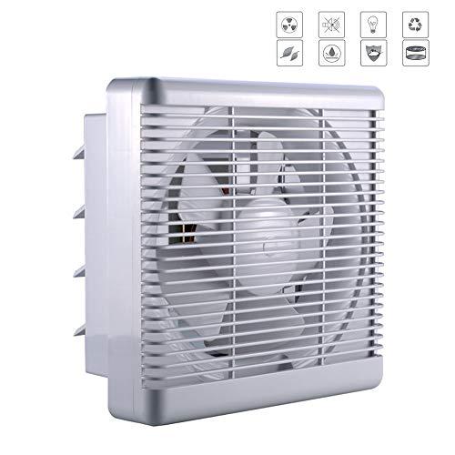ZQYR Extractor Fans@ Aspirateur 345 millimètres Extraction Ventilation Standard de Silence pour Salle de Bain, Cuisine, à Faible consommation d'énergie, Volume d'air: 1100m³ / h - 40W