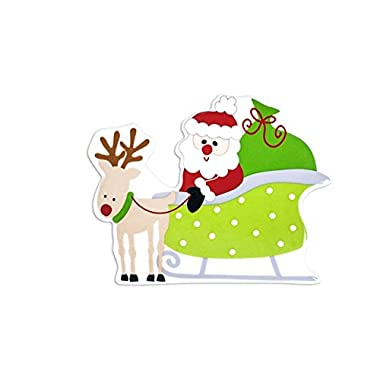 Coton Colors ATT Santa Sleigh Big Attachment,