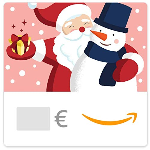 Buono Regalo Amazon.it - Digitale - Babbo Natale e pupazzo di neve