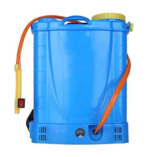 JXS Mochila pulverizador eléctrico, de Gran Capacidad del Tanque de Agua Chargeable - Multifuncional Boquilla de reemplazo - Se Utiliza para el riego y deshierbe del jardín Las Tierras agrícol