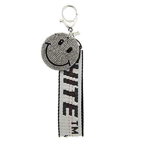 sweet delux 7071 Schlüssel -/Taschen -/Gürtelanhänger Schlüsselanhänger mit Strasssteinen