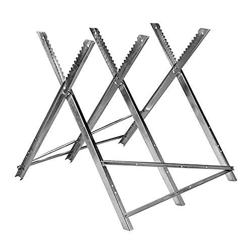HI Sägebock aus Metall, bis 150 kg, maximale Stammdicke: ca. ø30cm