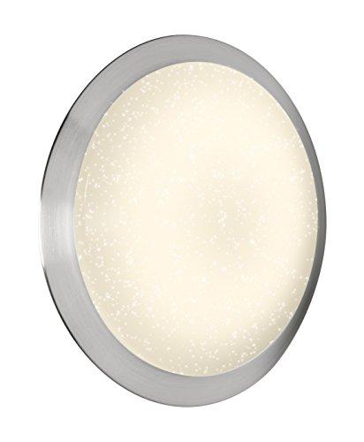 OSRAM - Applique / Plafonnier LED Silara Tray Sparkle Effet Ciel Etoilé - Diamètre 58cm - 35W Equivalent 3x60W - Dimmable et Température de couleur variable avec une télécommande fournie