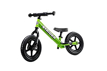 Strider ST-S4GN - 12 Sport Balance Bike Ages 18 Months to 5 Years Green