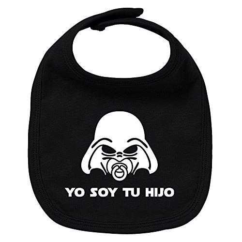 ClickInk Babero bebé Yo soy tu hijo/a. Parodia Yo