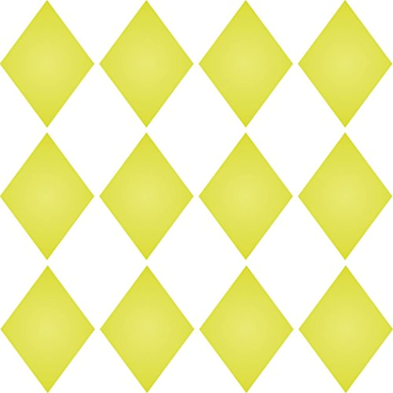 """SMALL DIAMONDS STENCIL (size 7""""w x 7""""h) Reusable Stencils for Painting - Best Quality Scrapbooking Wall Art Décor Ideas - Use on Walls, Floors, Fabrics, Glass, Wood, Posters, and More…"""