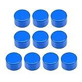 sourcing map Lot de 10 bouchons de tuyau en PVC 40 mm - Embouts coulissants DWV (évacuation d'évacuation des déchets) - Insonorisation de piscine - Bleu