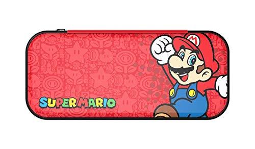 PowerA - Funda De Transporte Roja Stealth Case Super Mario (Nintendo Switch)