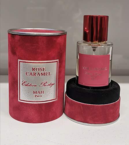 ROSE CARAMEL,MAH,EAU DE PARFUM, 50ML,FABRIQUE EN FRANCE