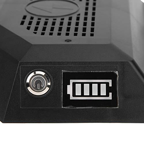 Semiter Controlador de Doble accionamiento de Baja Velocidad, Controlador de monopatín de Cuatro Ruedas, monopatín eléctrico para Motor de Cubo de monopatín de Cuatro Ruedas Compruebe la Potencia